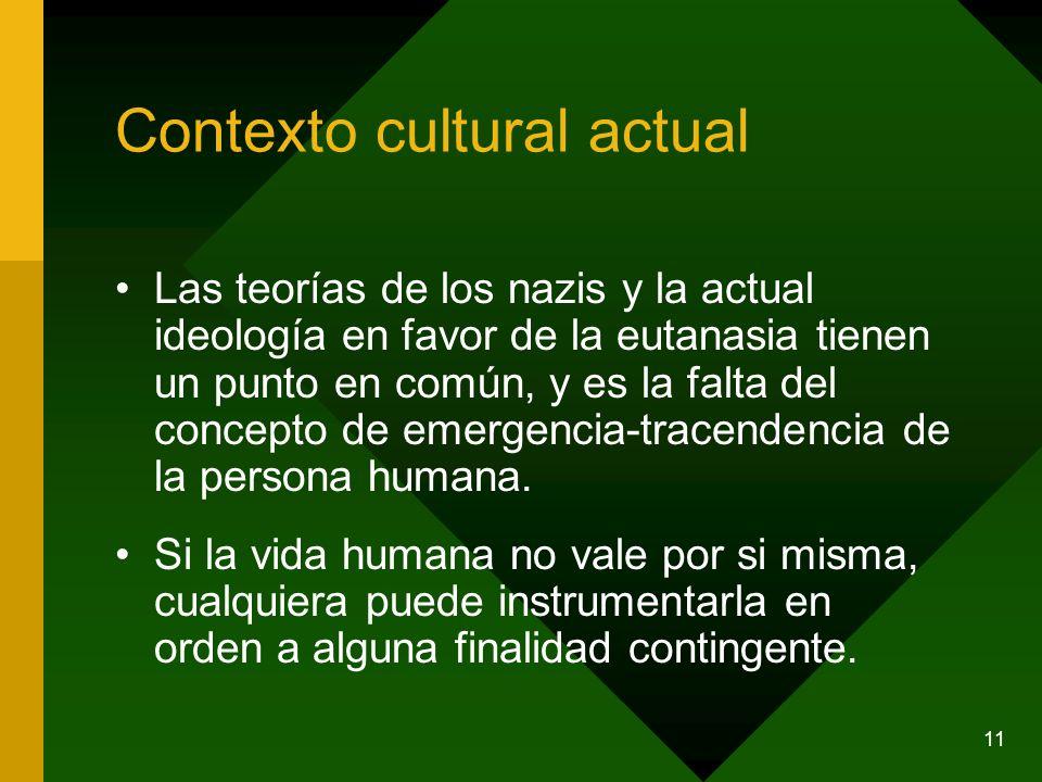 Contexto cultural actual