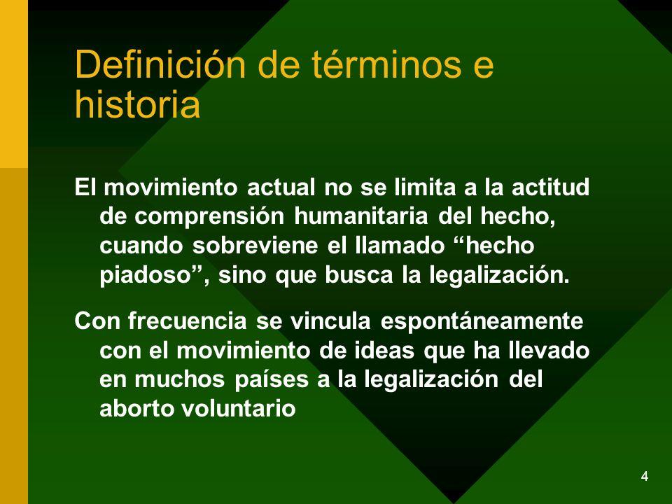 Definición de términos e historia