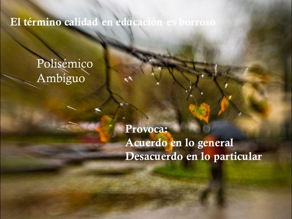 Polisémico Ambíguo Provoca: Acuerdo en lo general