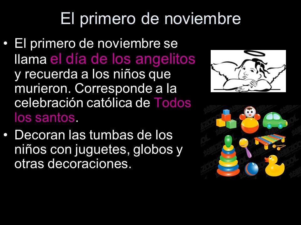 El primero de noviembre