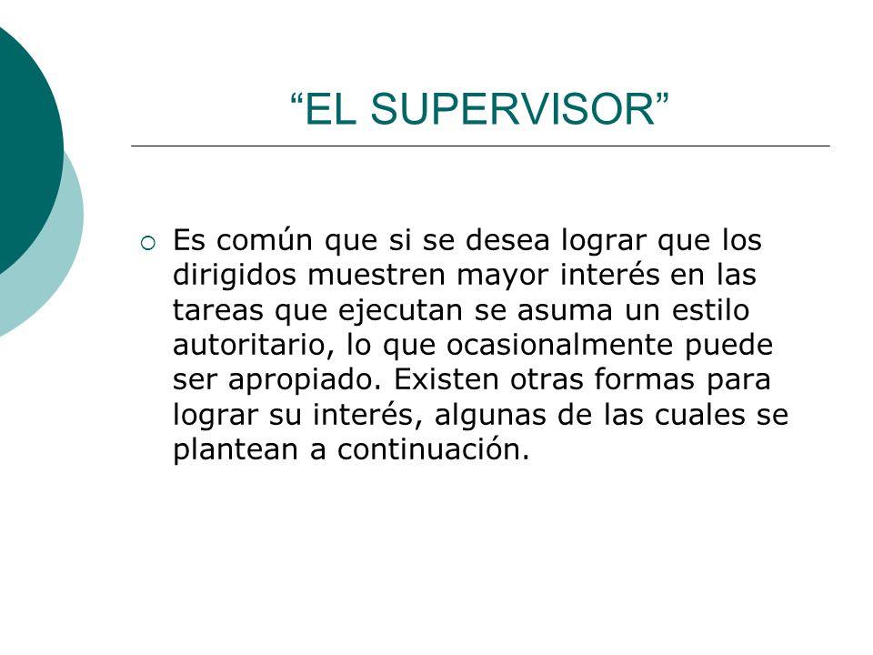 EL SUPERVISOR