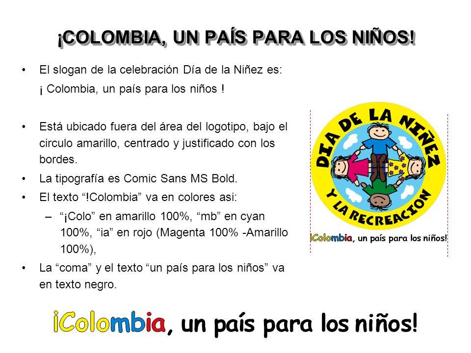 ¡COLOMBIA, UN PAÍS PARA LOS NIÑOS!