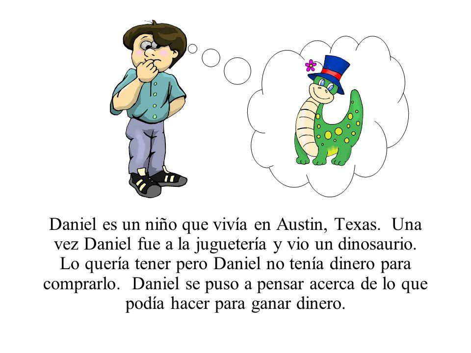 Daniel es un niño que vivía en Austin, Texas