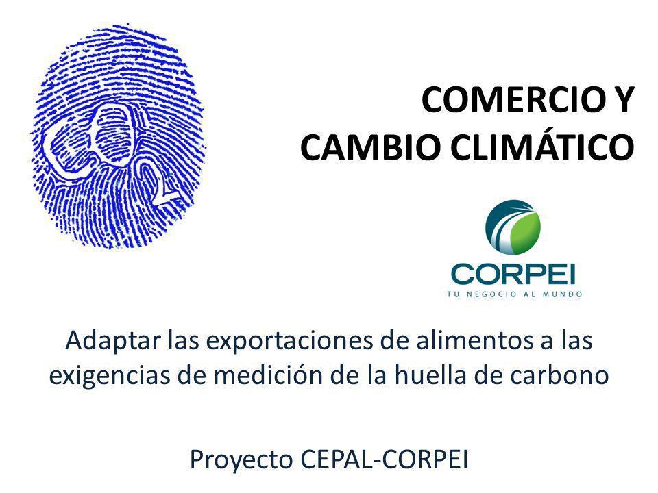 COMERCIO Y CAMBIO CLIMÁTICO