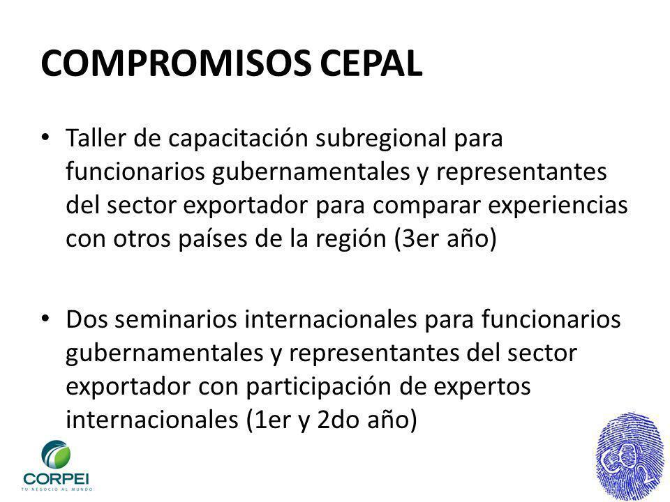 COMPROMISOS CEPAL
