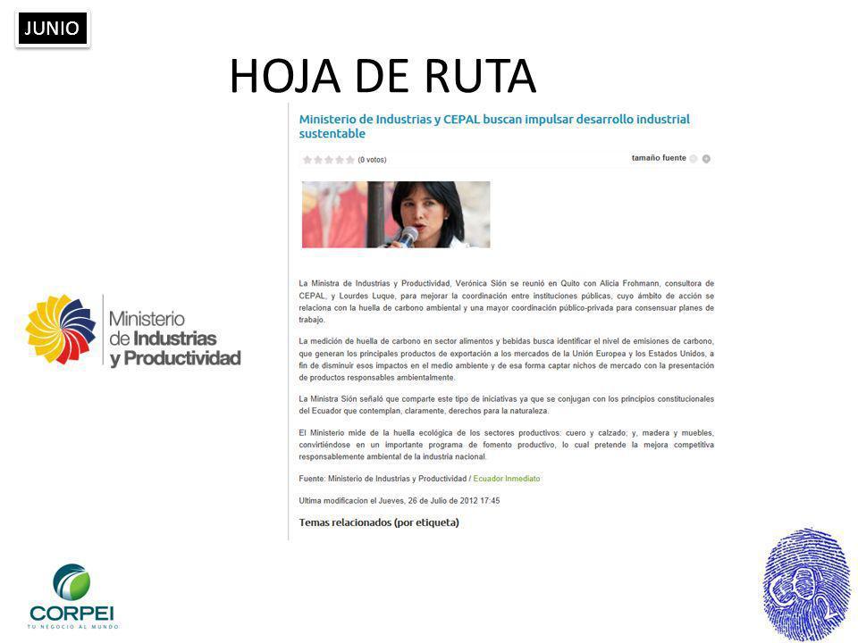 JUNIO HOJA DE RUTA