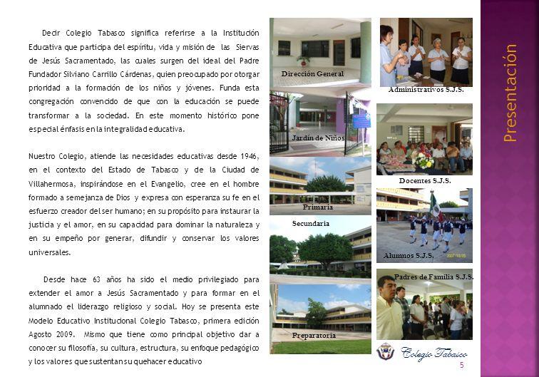 Presentación Colegio Tabasco Dirección General