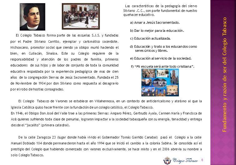 Las características de la pedagogía del siervo Silviano. C. C