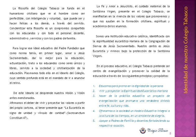 Identidad de nuestro Colegio Tabasco