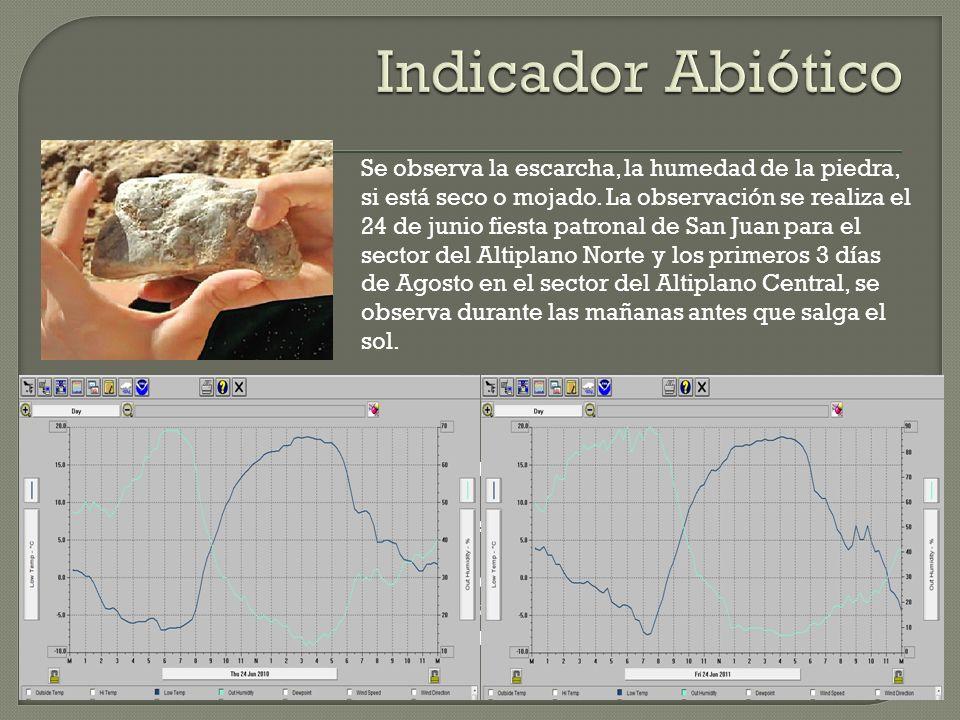 Indicador Abiótico
