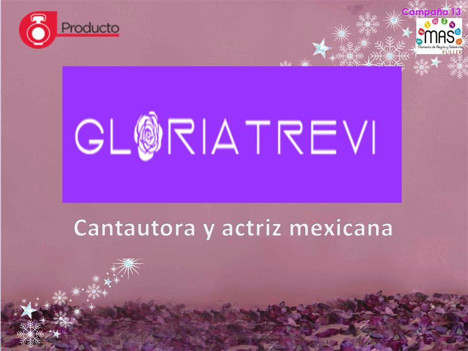 Cantautora y actriz mexicana
