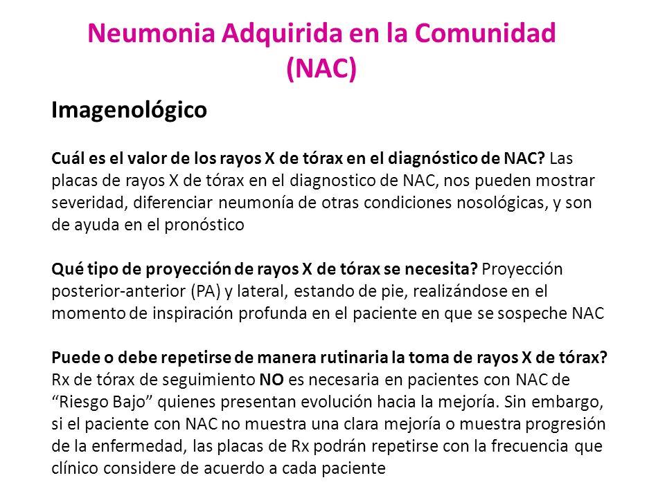 Neumonia Adquirida en la Comunidad