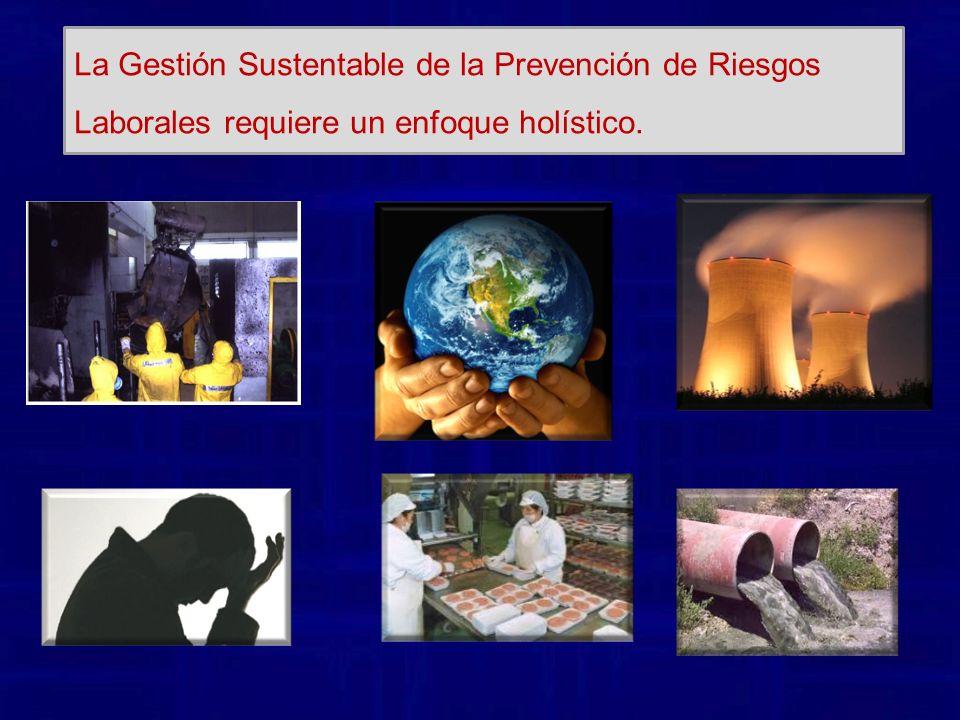 La Gestión Sustentable de la Prevención de Riesgos Laborales requiere un enfoque holístico.