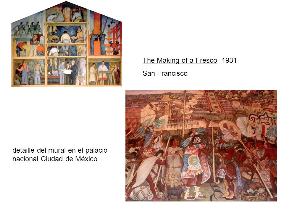 The Making of a Fresco -1931 San Francisco.