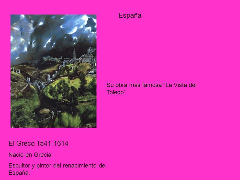 España El Greco 1541-1614 Su obra más famosa La Vista del Toledo