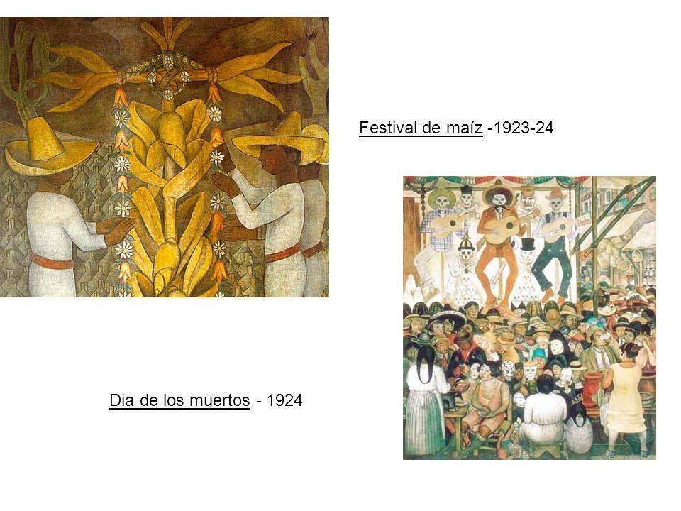 Festival de maíz -1923-24 Dia de los muertos - 1924