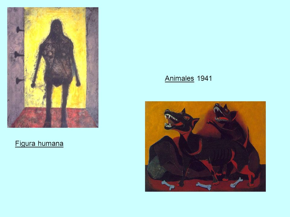 Animales 1941 Figura humana