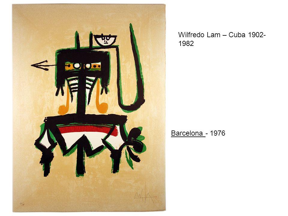 Wilfredo Lam – Cuba 1902-1982 Barcelona - 1976