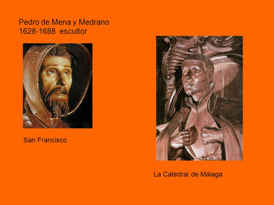 Pedro de Mena y Medrano 1628-1688 escultor