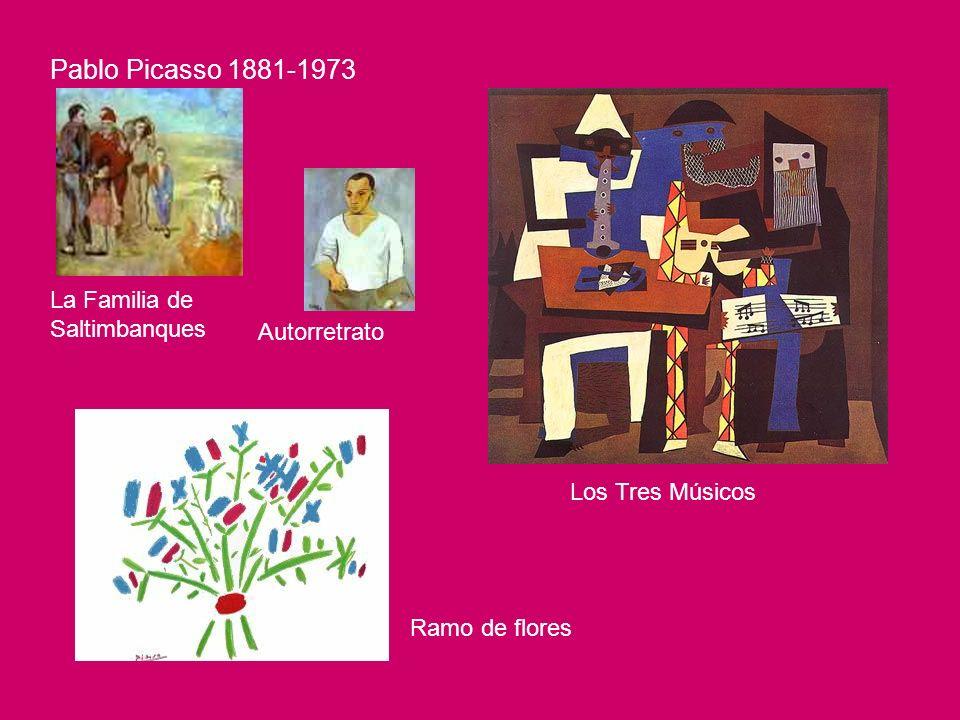 Pablo Picasso 1881-1973 La Familia de Saltimbanques Autorretrato