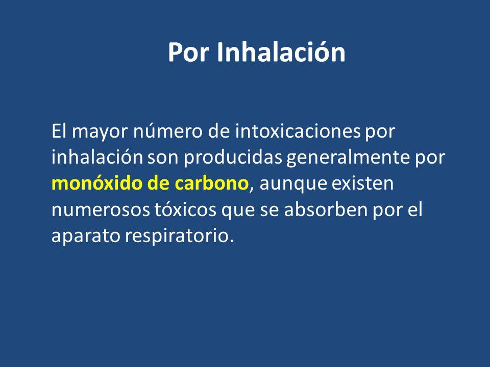 Por Inhalación