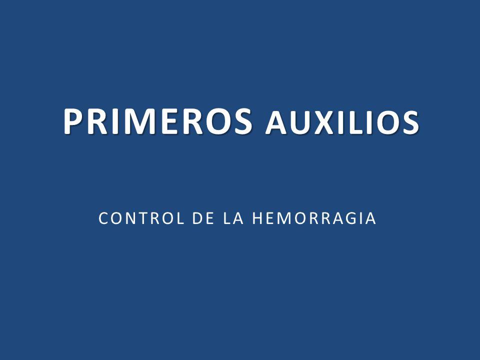CONTROL DE LA HEMORRAGIA