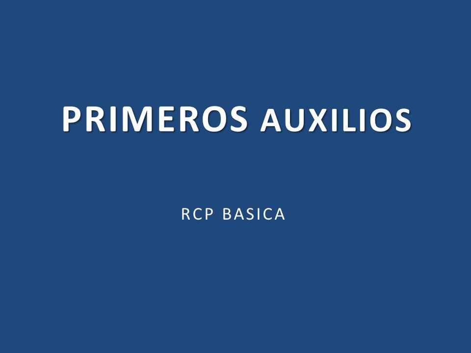 PRIMEROS AUXILIOS RCP BASICA