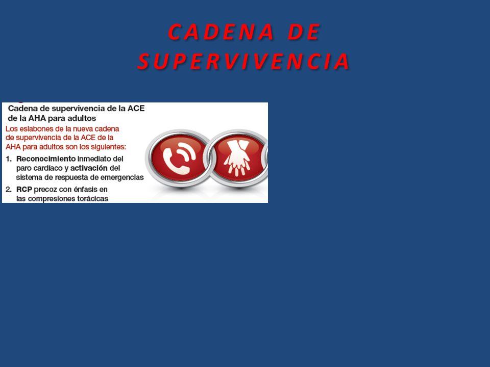 CADENA DE SUPERVIVENCIA