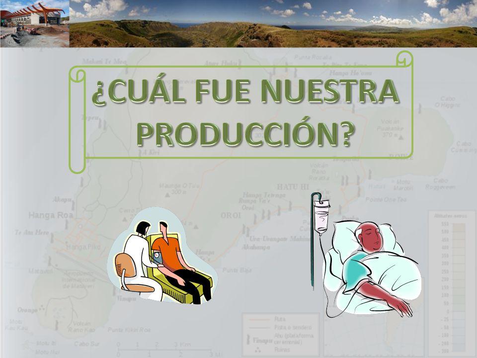 ¿CUÁL FUE NUESTRA PRODUCCIÓN
