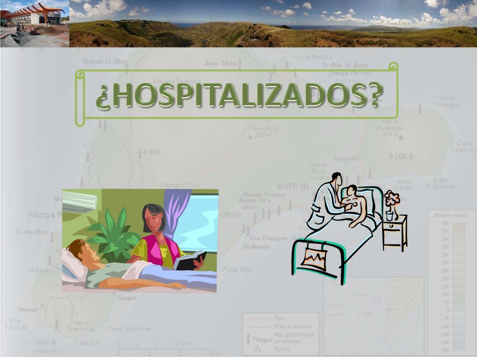 ¿HOSPITALIZADOS