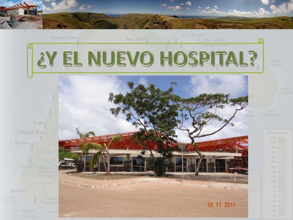 ¿Y EL NUEVO HOSPITAL