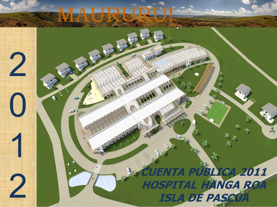 CUENTA PÚBLICA 2011 HOSPITAL HANGA ROA