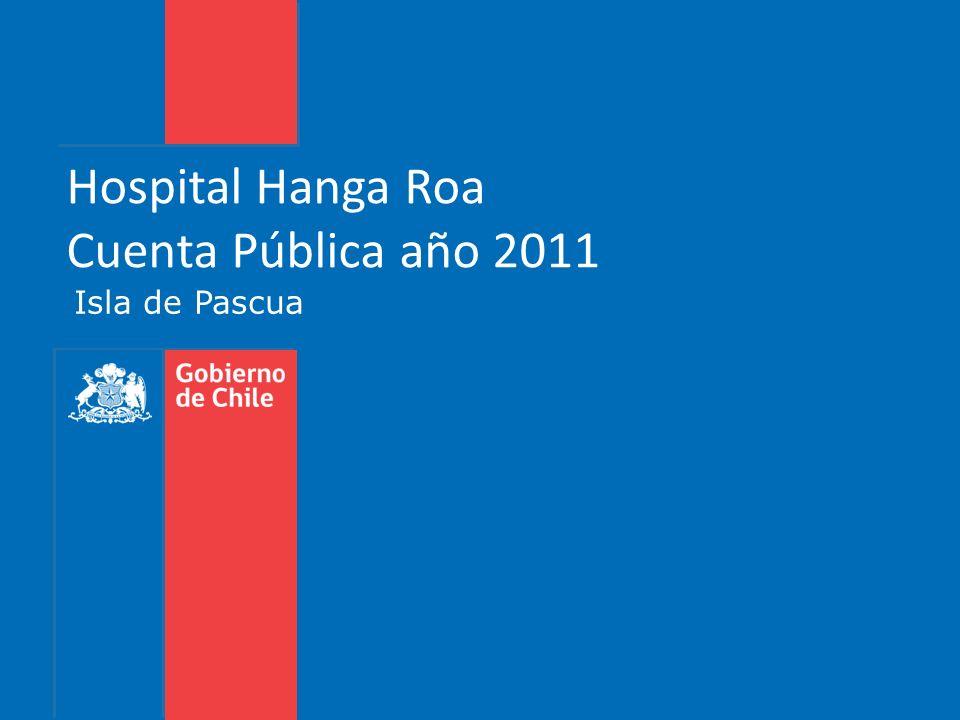 Hospital Hanga Roa Cuenta Pública año 2011