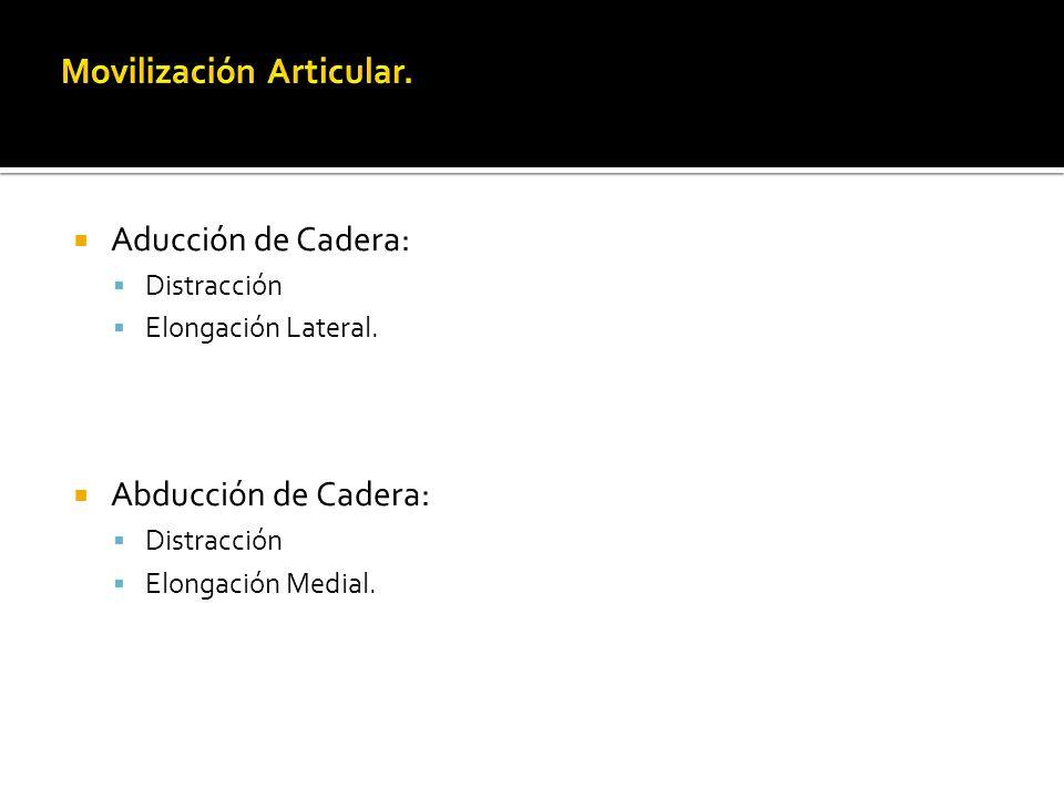 Movilización Articular.