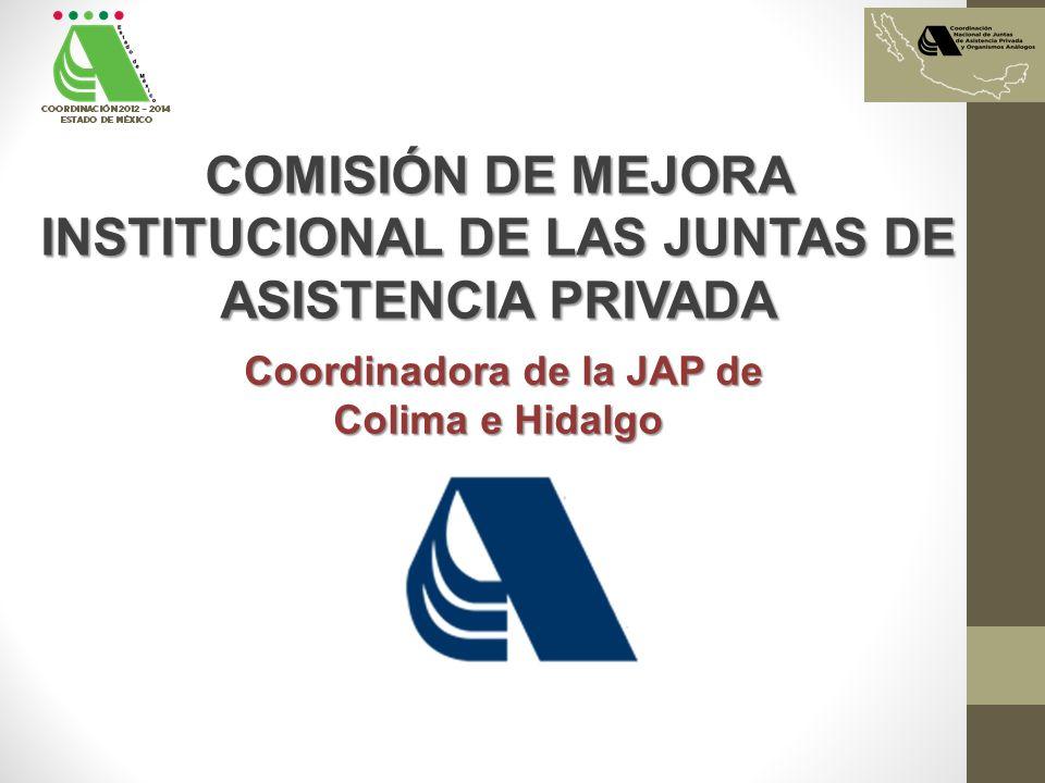 COMISIÓN DE MEJORA INSTITUCIONAL DE LAS JUNTAS DE ASISTENCIA PRIVADA