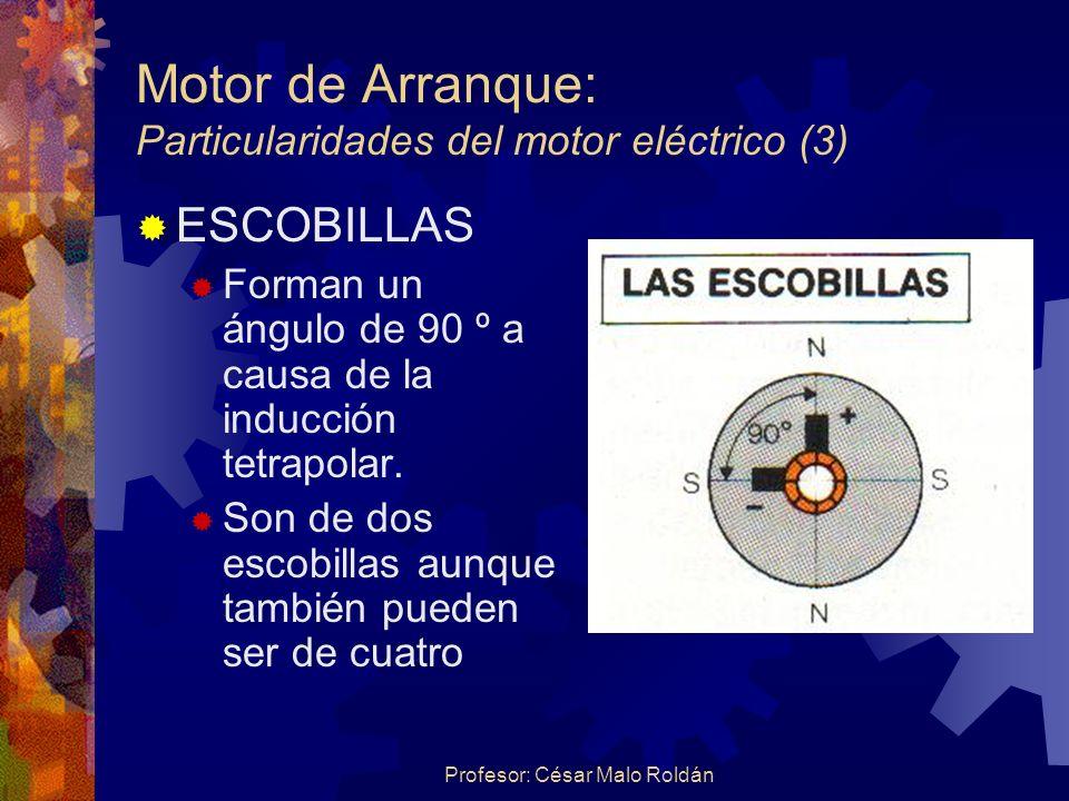 Motor de Arranque: Particularidades del motor eléctrico (3)