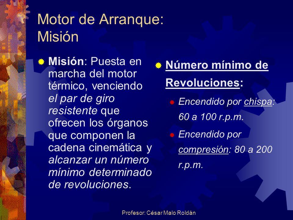 Motor de Arranque: Misión