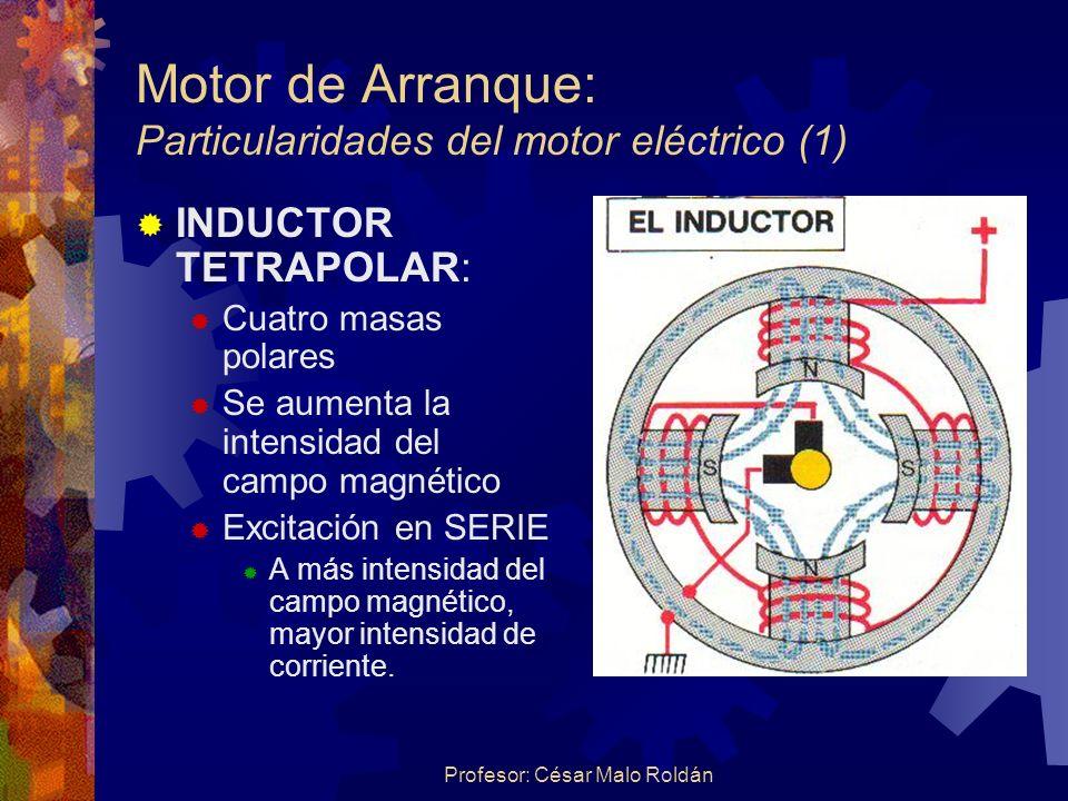 Motor de Arranque: Particularidades del motor eléctrico (1)