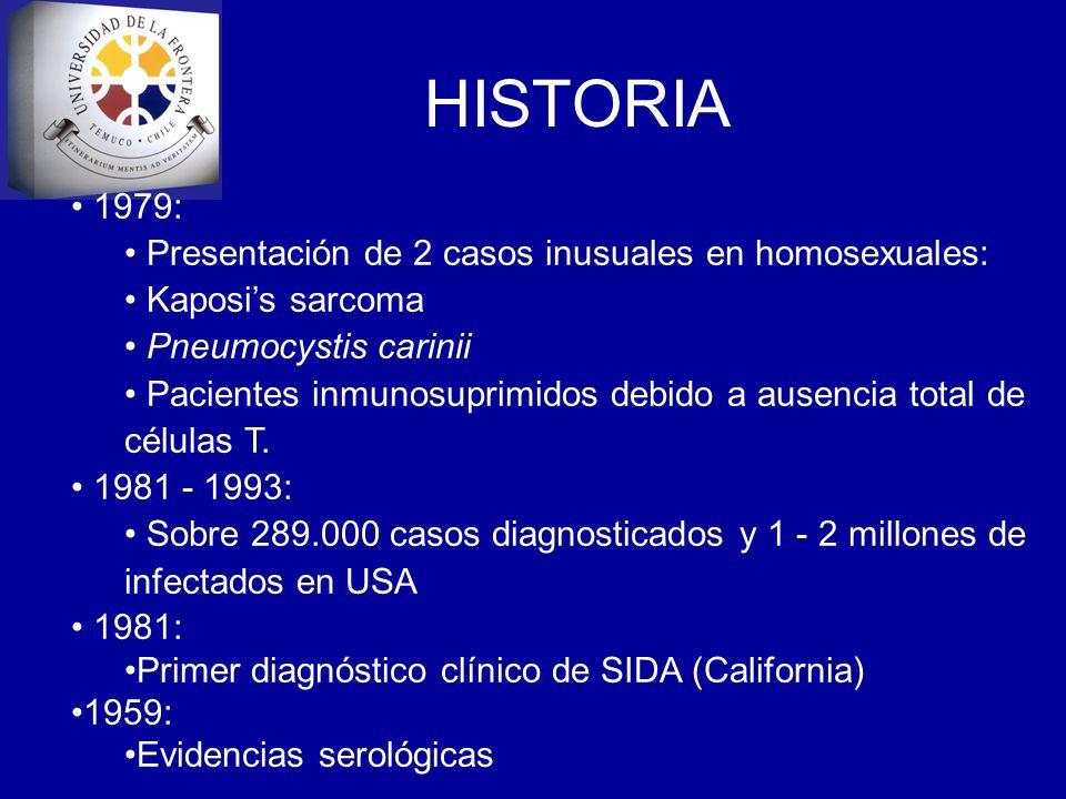 HISTORIA 1979: Presentación de 2 casos inusuales en homosexuales: