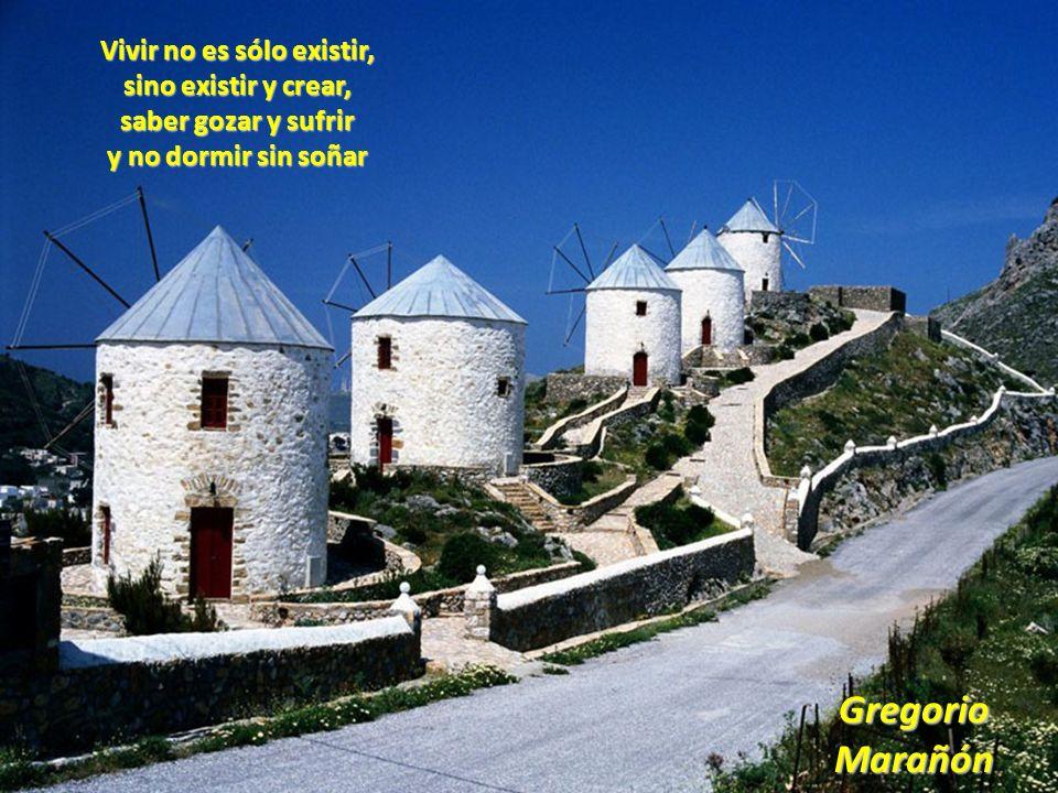 Gregorio Marañón Vivir no es sólo existir,