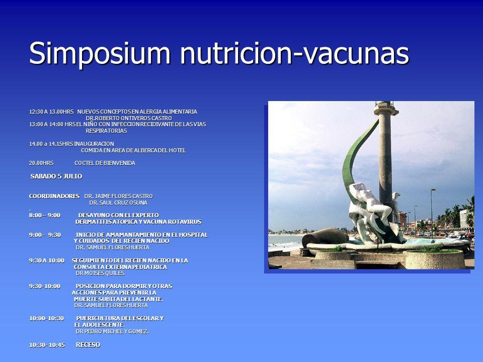 Simposium nutricion-vacunas