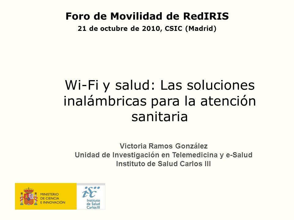 Wi-Fi y salud: Las soluciones inalámbricas para la atención sanitaria