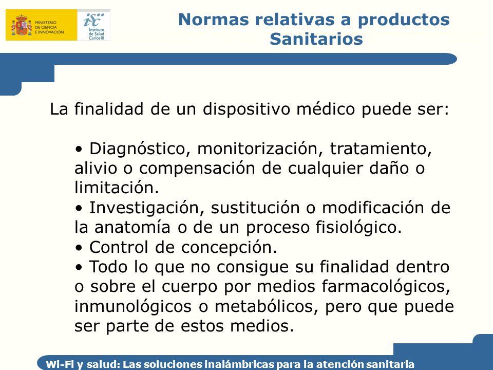 Normas relativas a productos