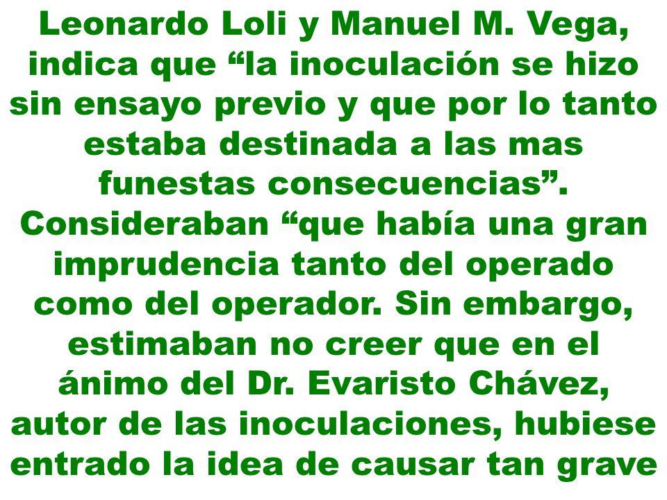 Leonardo Loli y Manuel M