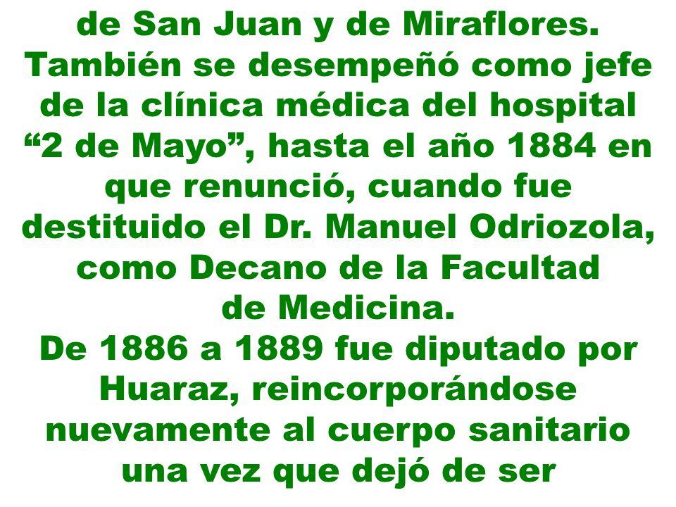 de San Juan y de Miraflores.