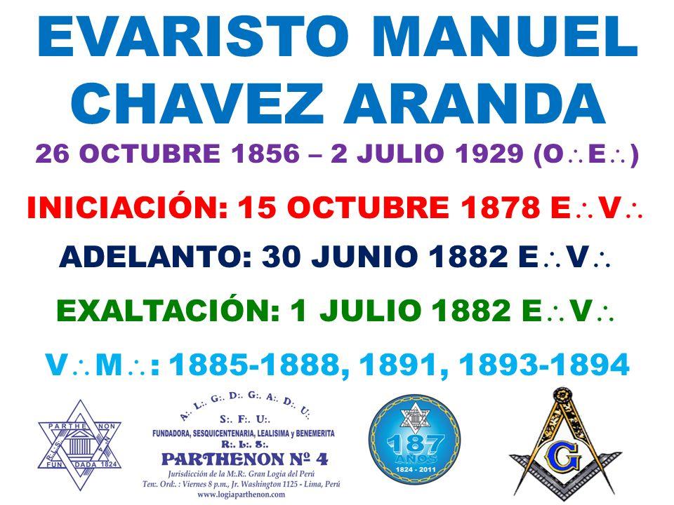 EVARISTO MANUEL CHAVEZ ARANDA