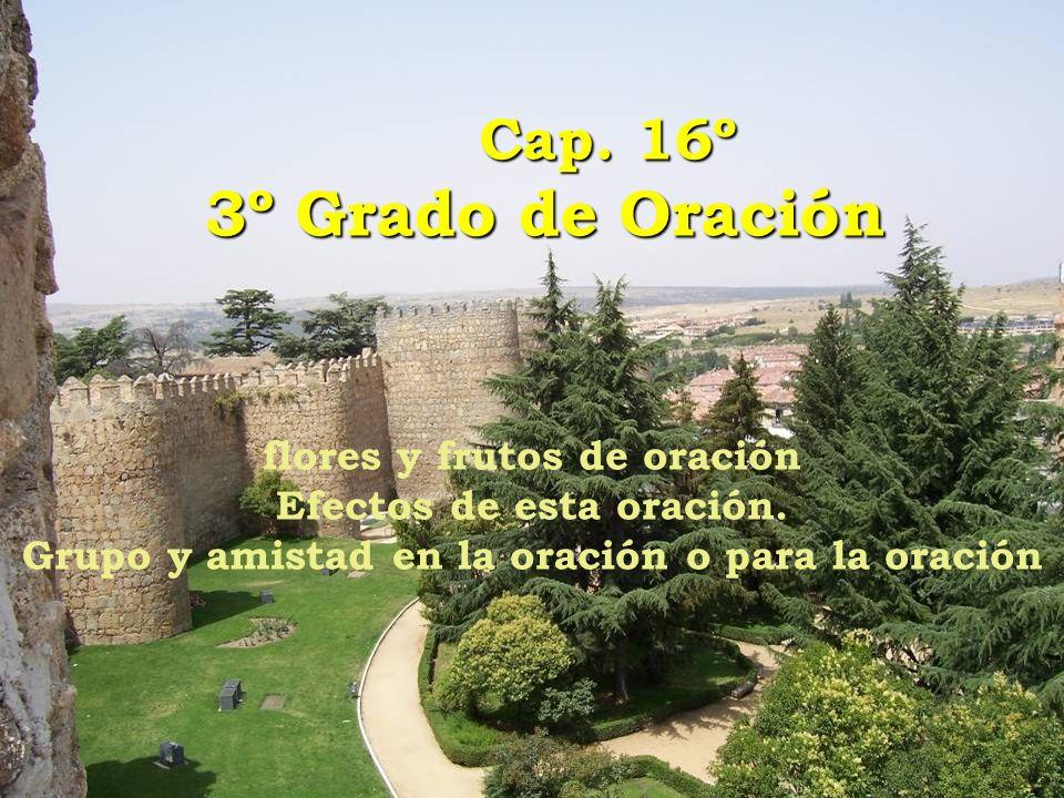 Cap. 16º 3º Grado de Oración flores y frutos de oración