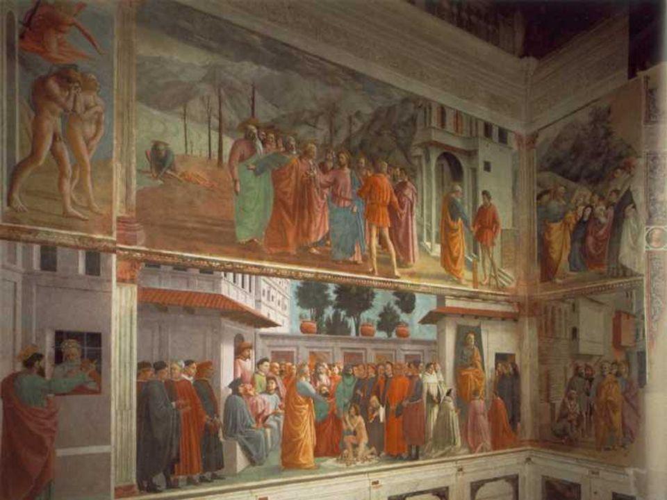 Pintura: Massaccio · Murió con 28 años y por eso su obra es escasa