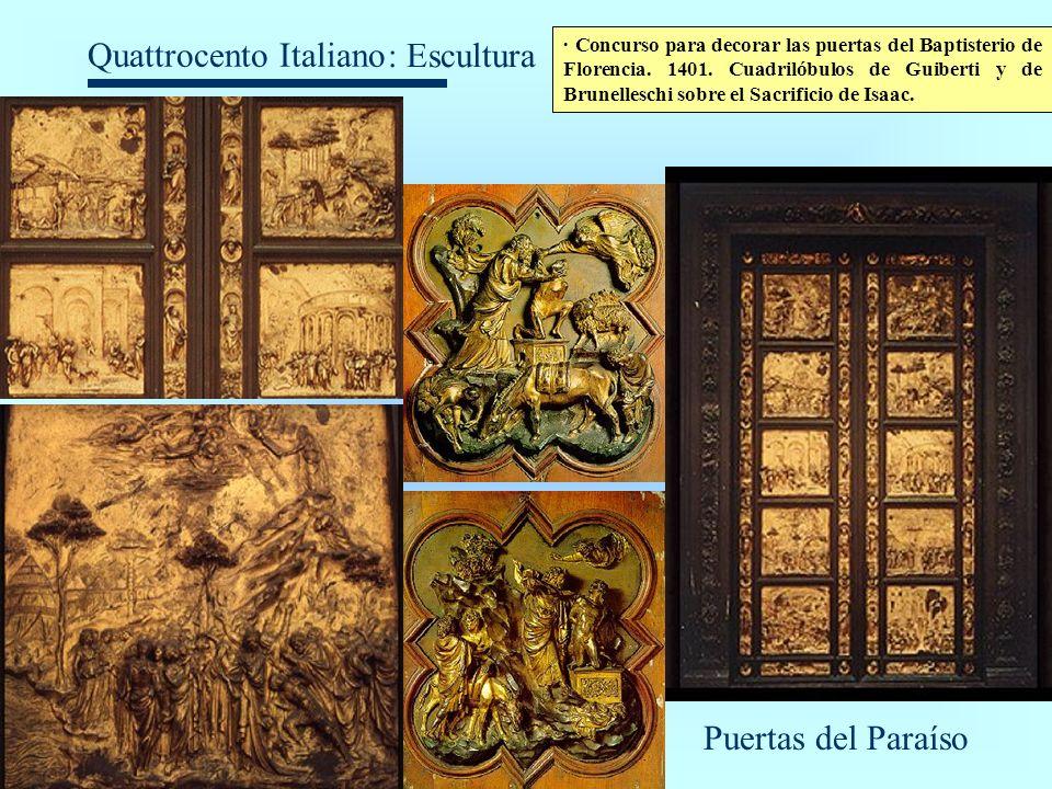 : Escultura Puertas del Paraíso