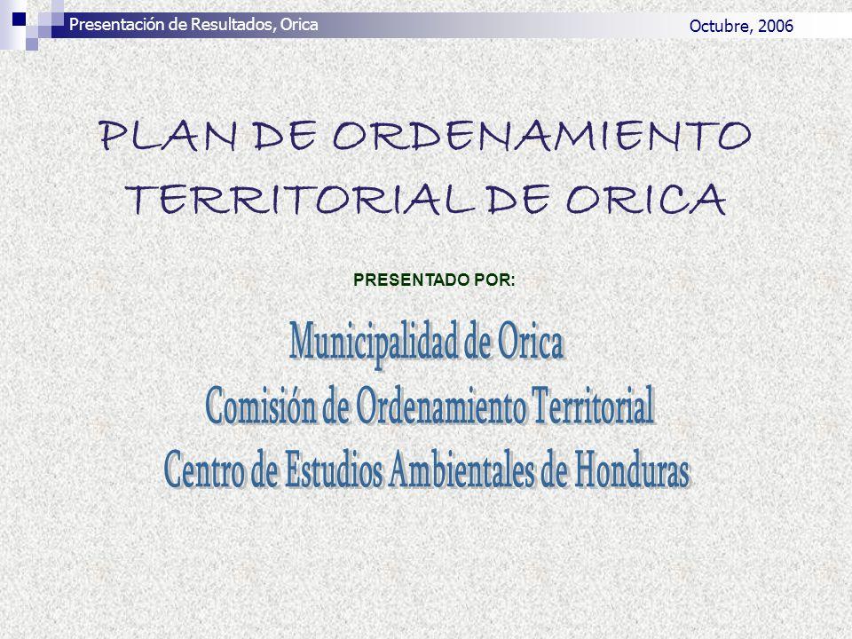 PLAN DE ORDENAMIENTO TERRITORIAL DE ORICA